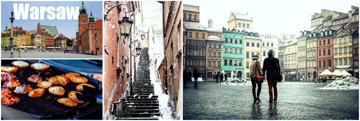 Тур в Варшаву на выходные в январе!