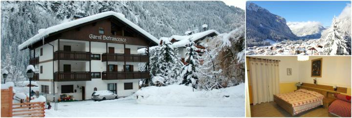 Отдых в Доломитовых Альпах, Albergo Garni Defrancesco