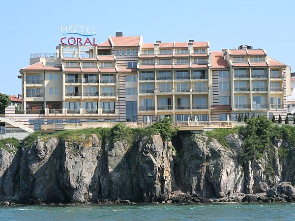 Coral 3*  (Корал 3* ). Фасад