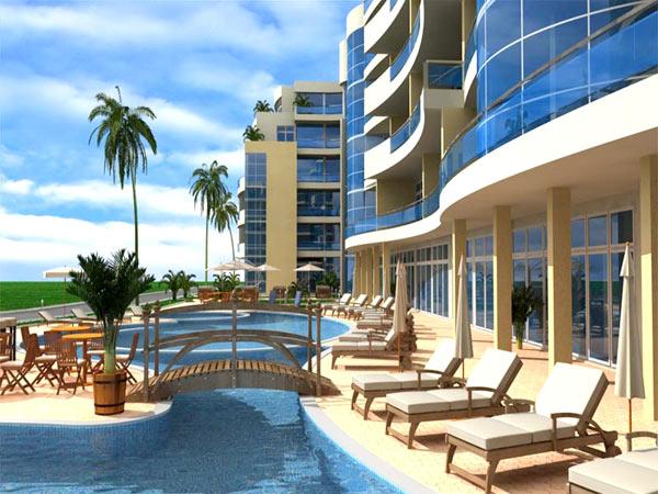 Marina Holiday Club 4* (Марина Холидей Клуб 4*). Фасад