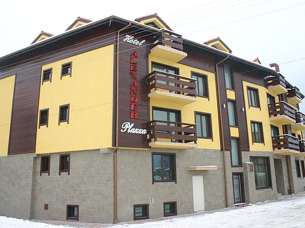 Alexander Plaza 4*. Фасад