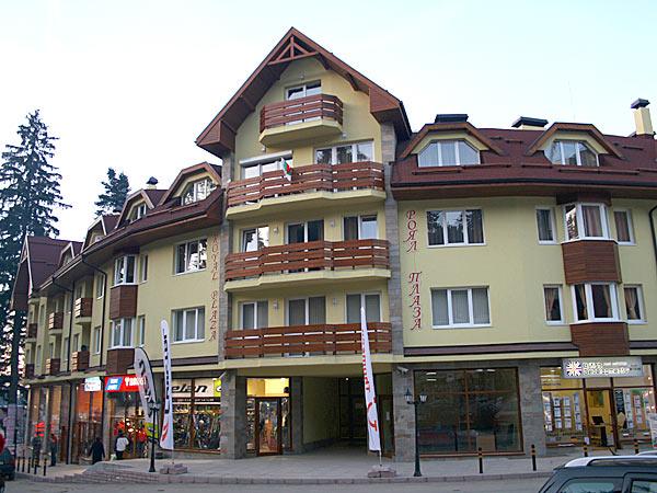 Royal Plaza 3*. Фасад