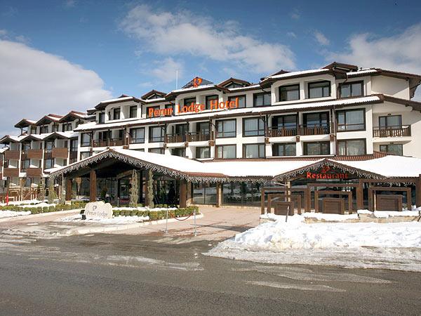 Perun Lodge 4*. Фасад