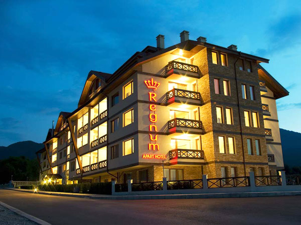 Regnum Apart Hotel 4*. Фасад