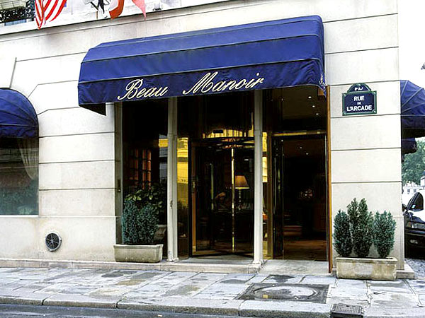 Amarante Beau Manoir 4*. Фасад