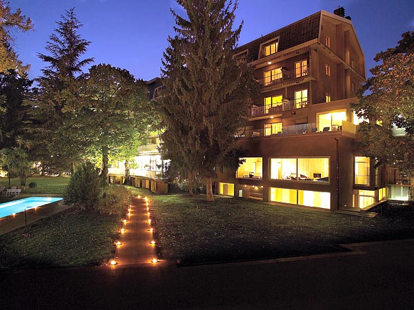 Silva Hotel Splendid 4*. Фасад