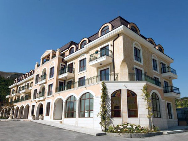 Villa Allegra App 3* (Вилла Аллегра Апп 3*). Фасад