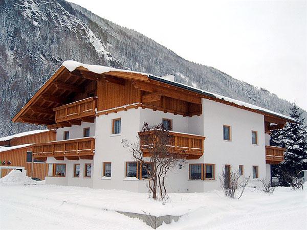 Appartementhaus Holzknecht 3*. Фасад