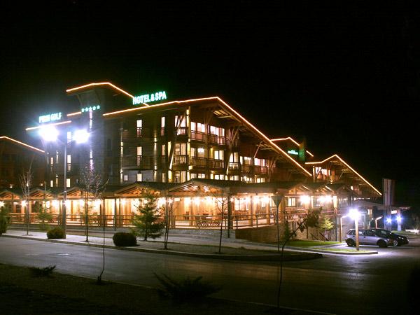 Pirin Golf Hotel & Spa 5*. Фасад