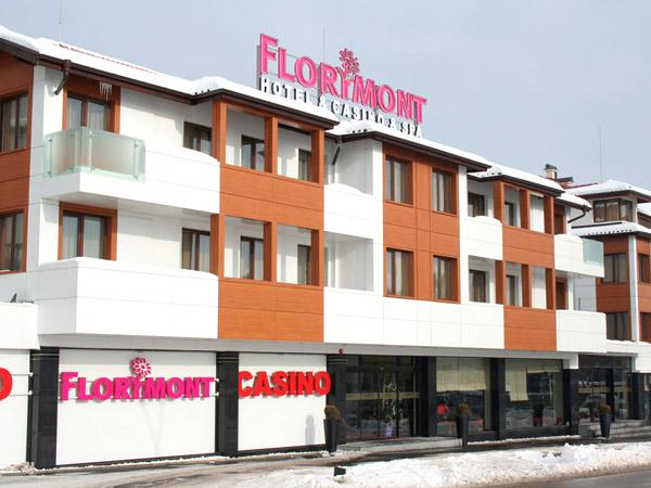 Florimont Casino & SPA 4*. Фасад