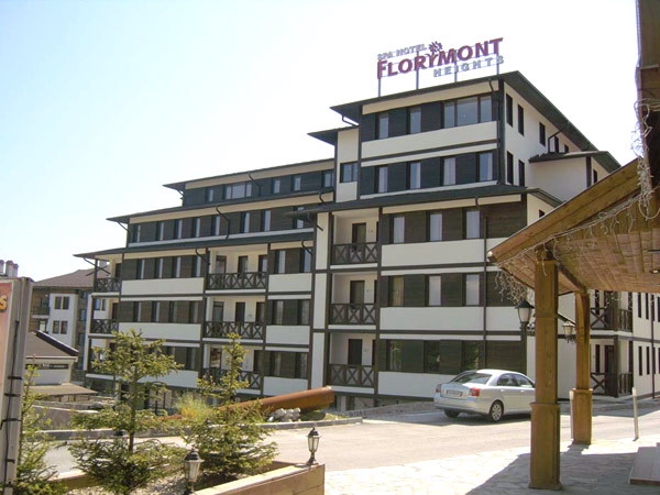Florimont Heights 4*. Фасад