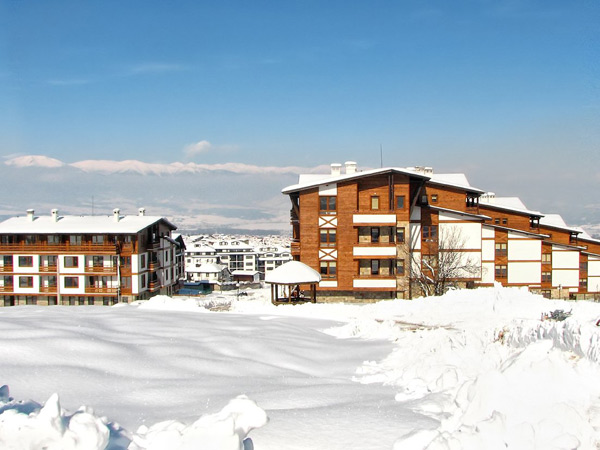 Green Life Ski & Spa Resort 4*. Панорама