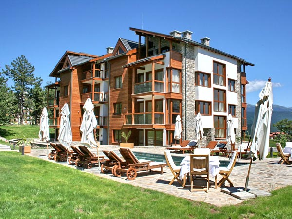 Pirin Golf Apartments 4*. Фасад