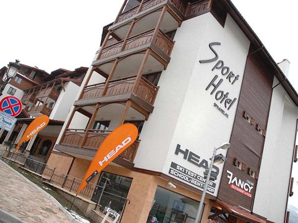 Sport Hotel 4*. Фасад