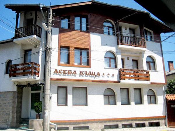 Aseva House 3*. Фасад