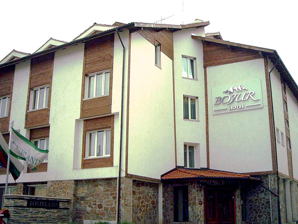 Bojur/Bojurland 3*. Фасад