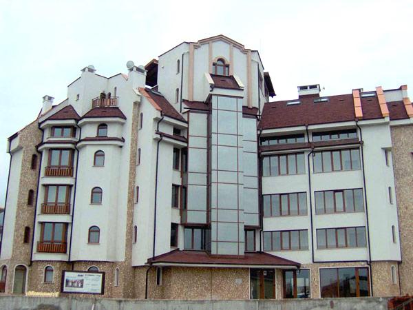 Pirin Place 3*. Фасад