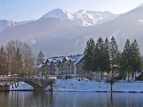 Alpinum Hotel Jezero 4*. Панорама