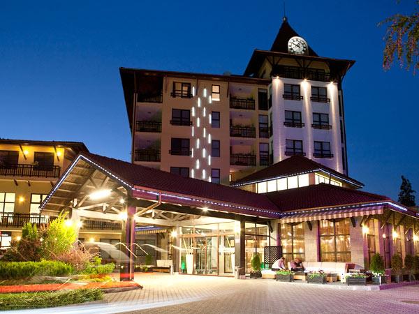 Grand Hotel Velingrad 4*. Фасад