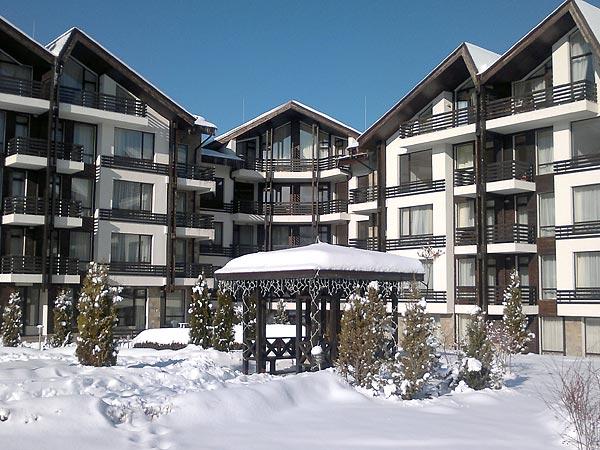 Aspen Golf 4*. Фасад