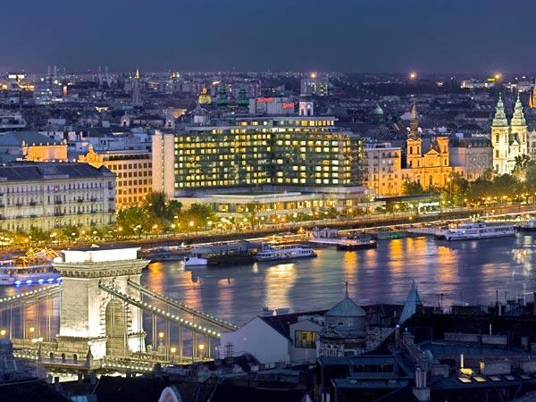 Budapest Marriott 5*. Панорама