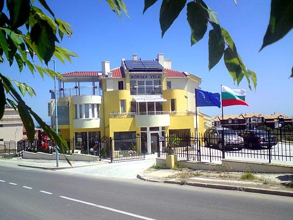 Morska Villa 3*. Фасад