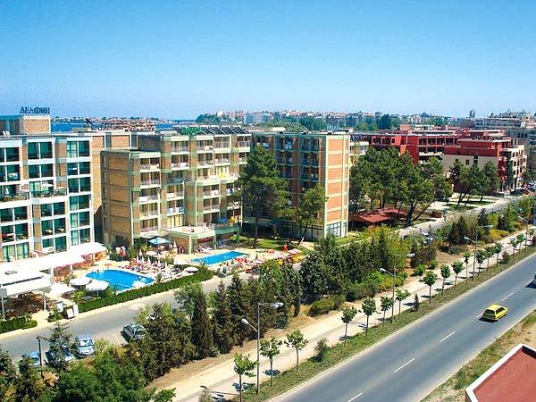 Nimfa-Russalka 2*. Фасад