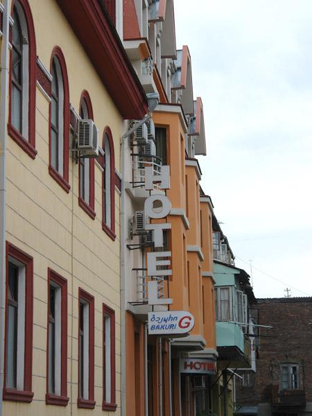 G-Bakuri 3*. Фасад