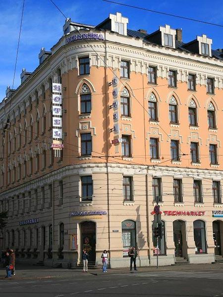 Irina 3*. Фасад