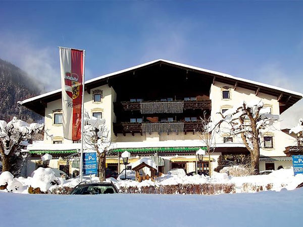 Alpenparks Hotel Eder 3*. Фасад