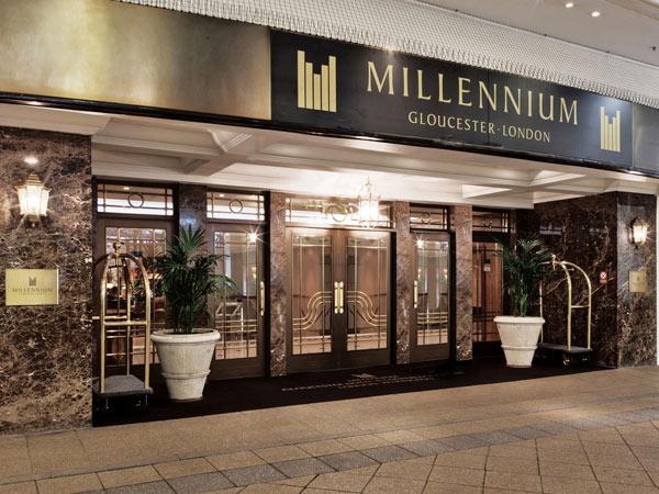 Millennium Gloucester 4*. Фасад