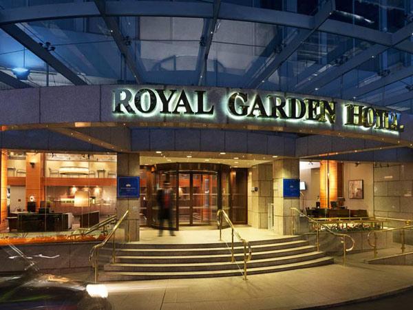 Royal Garden 5*. Фасад