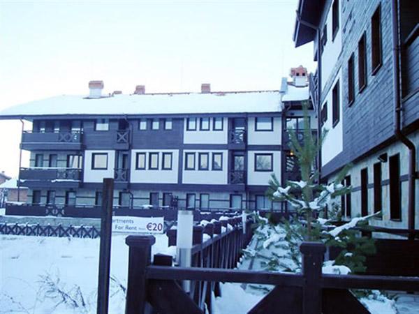 Chalet Elegant 3*. Фасад