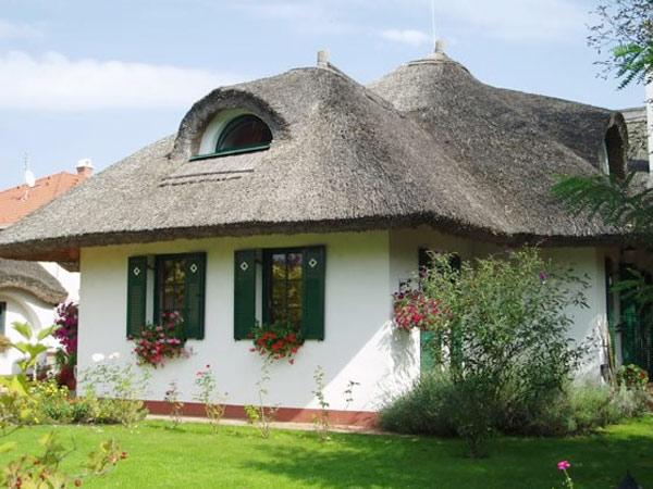 Музей-усадьба Budafok Panzió. Фасад
