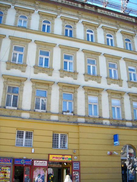 Апартамент Erzebet. Фасад