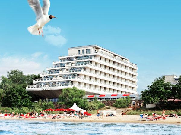 Baltic Beach 5*. Фасад