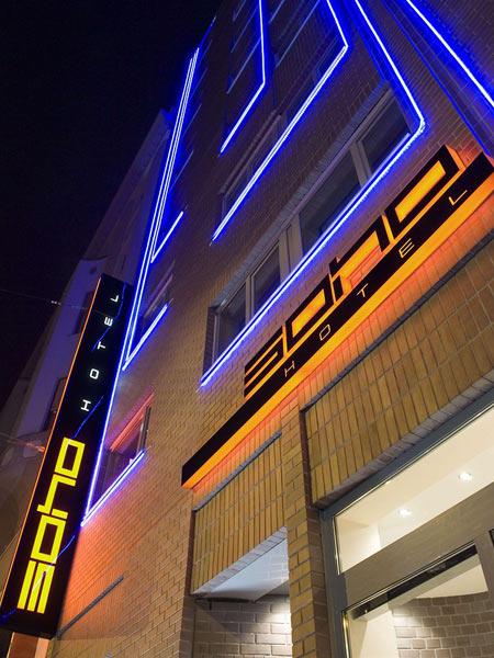 Soho 4*. Фасад