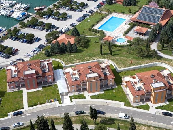 Residence Marina 4*. Панорама