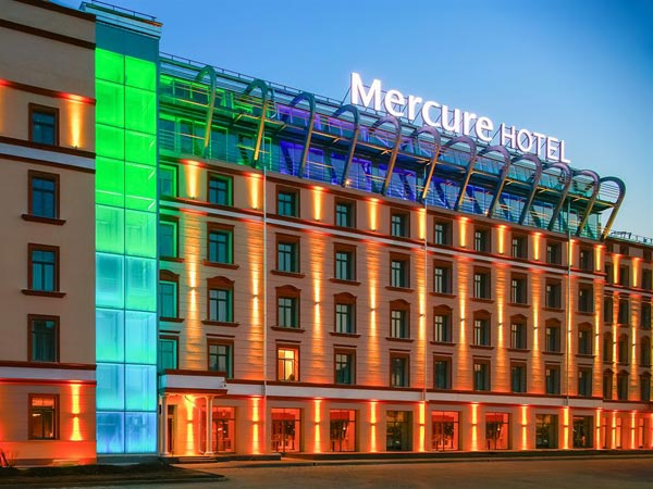 Mercure Riga Centre 4*. Фасад