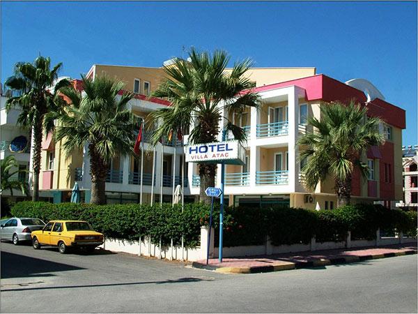 Hotel Villa Atac 3*. Фасад